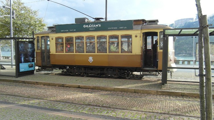 Trams in Oporto